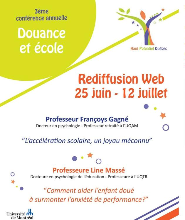 Rediffusion Conf Douance Ecole Juin 2015